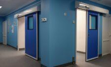 Раздвижные двери стерильных помещений